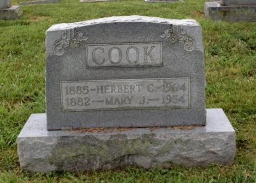 Mary Julia <i>Combs</i> Cook