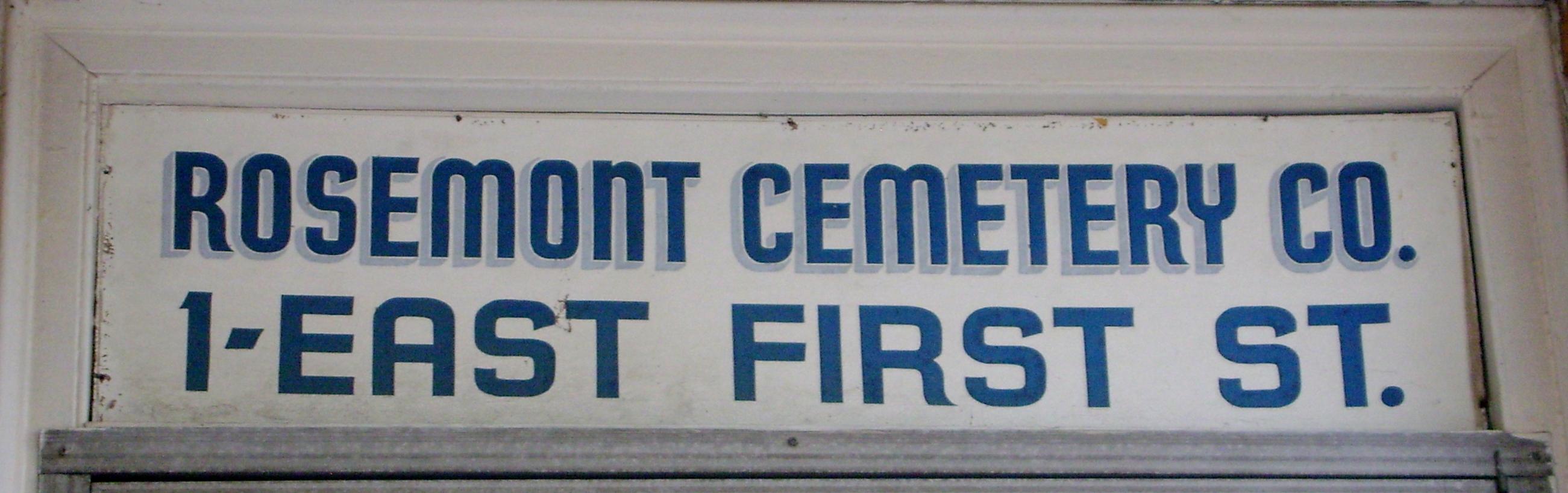 Old Rosemont Cemetery