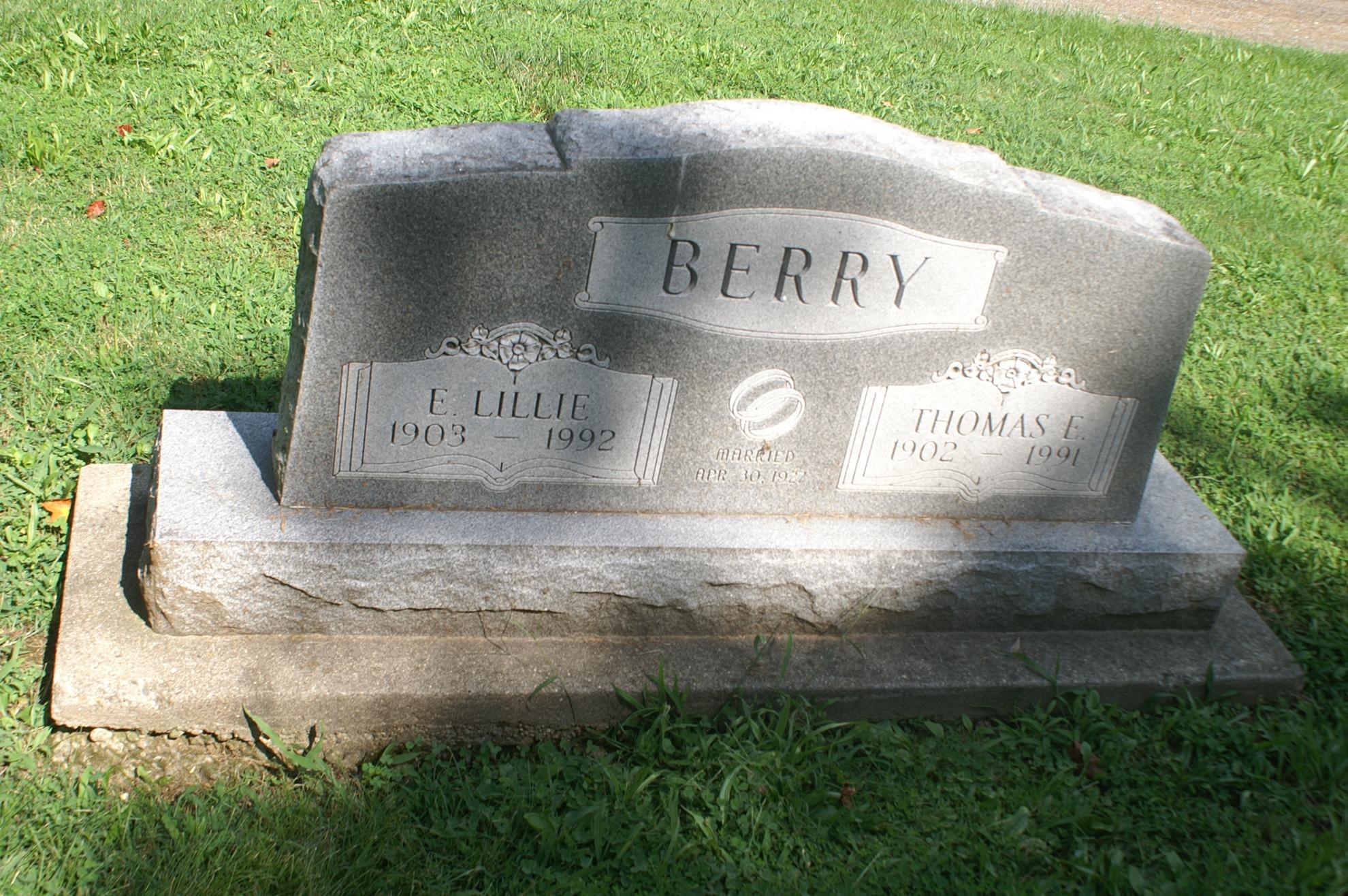 Thomas Edson Berry