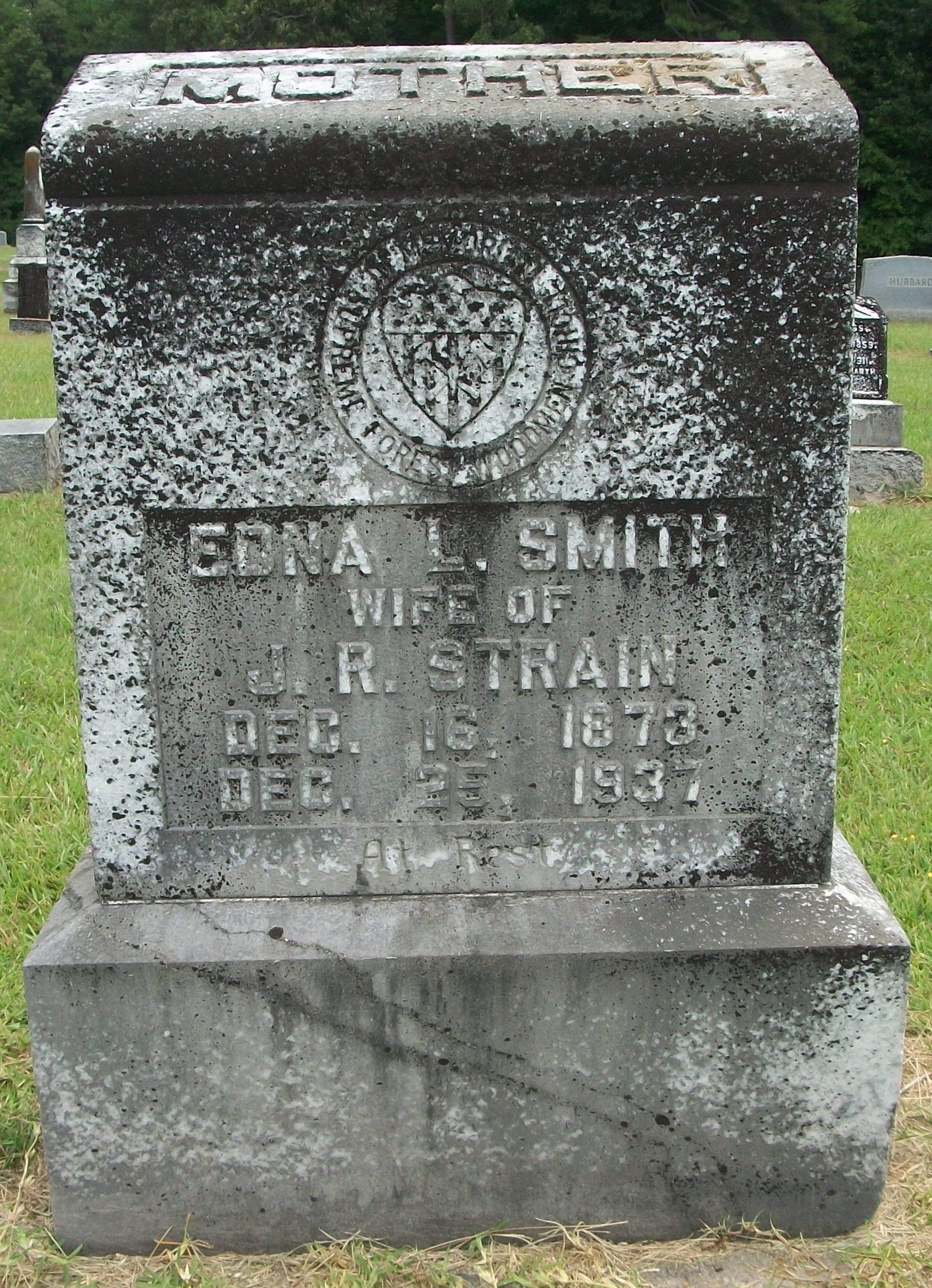 Edna L. <i>Smith</i> Strain