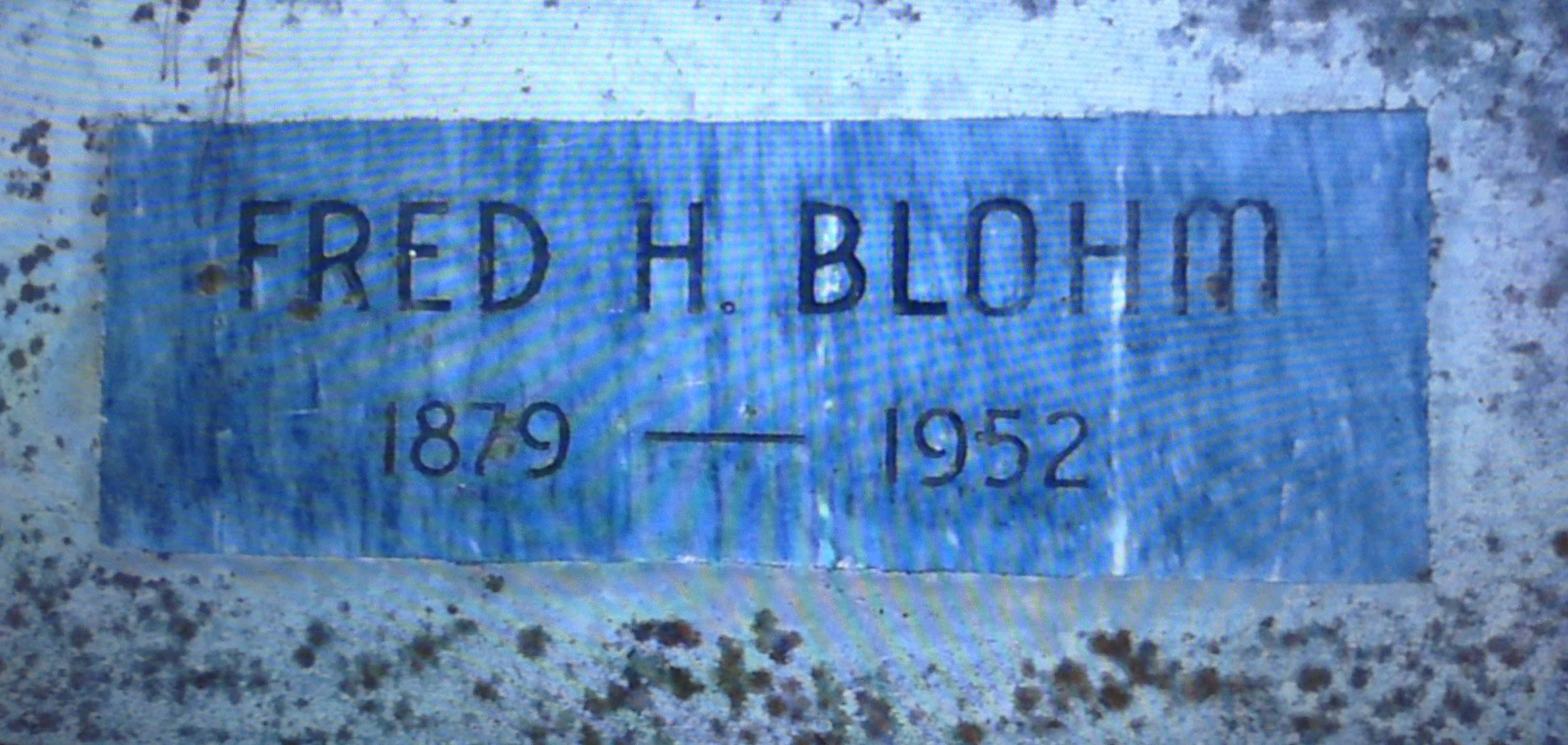 Fred Hugo Blohm