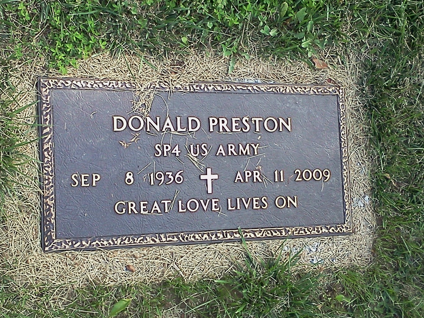 Donald Leroy Preston