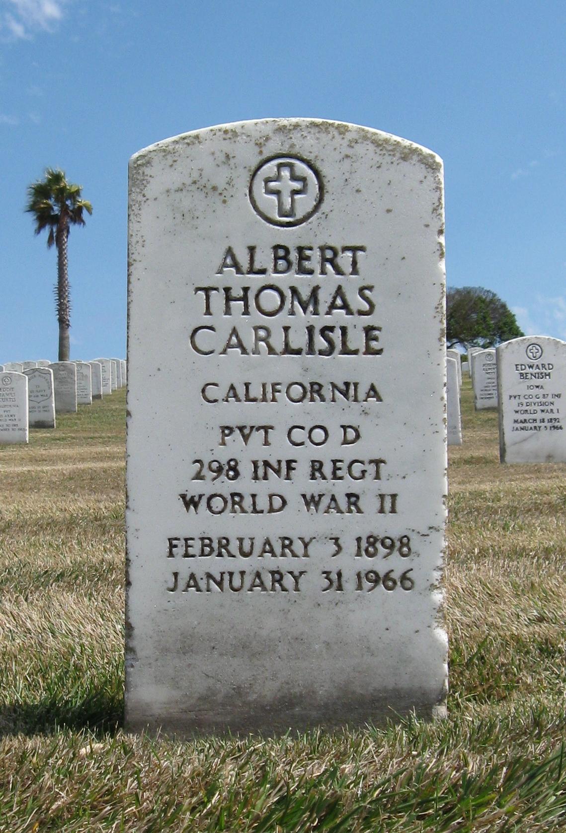 Albert Thomas Carlisle
