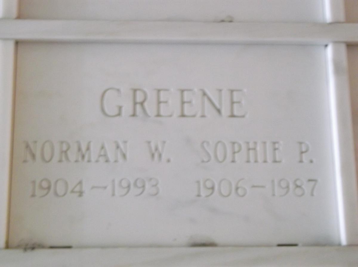 Sophie P Greene