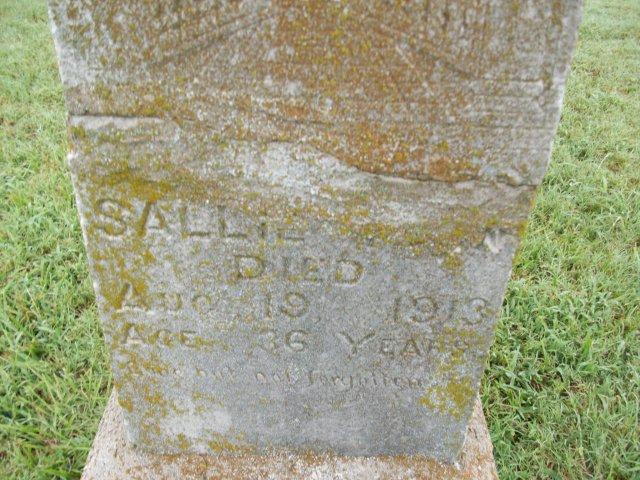 Sallie Unknown