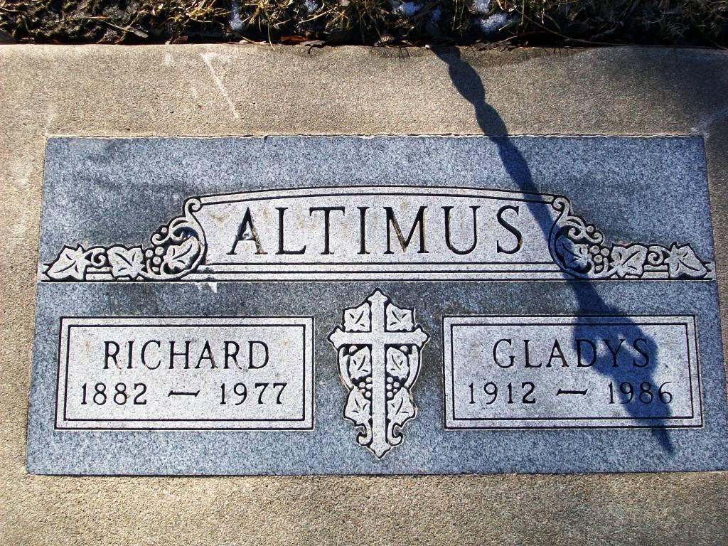 Gladys Irene <i>Switzer</i> Altimus