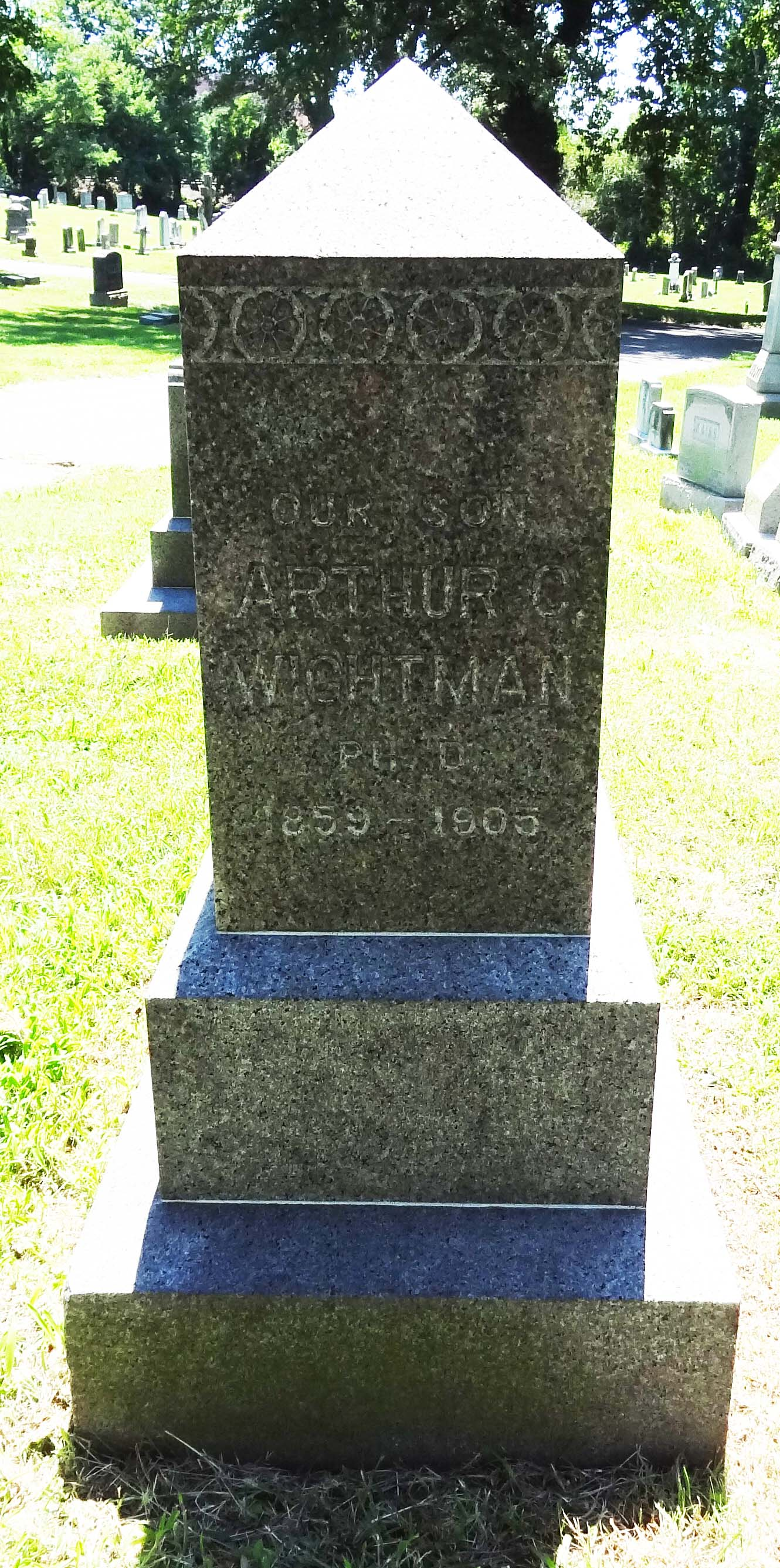 Dr Arthur Clarence Wightman
