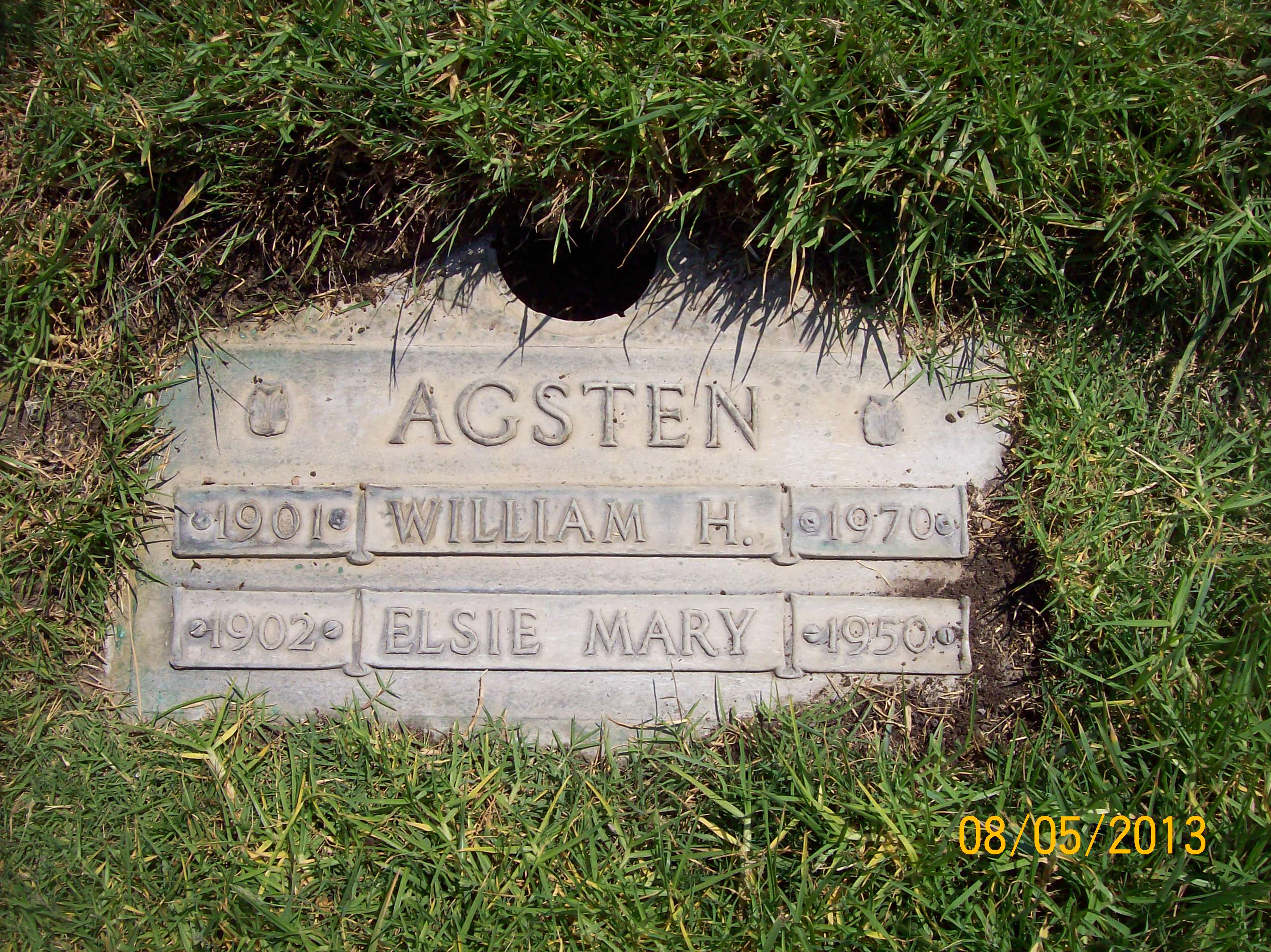Elsie Mary <i>Kemmerie</i> Agsten