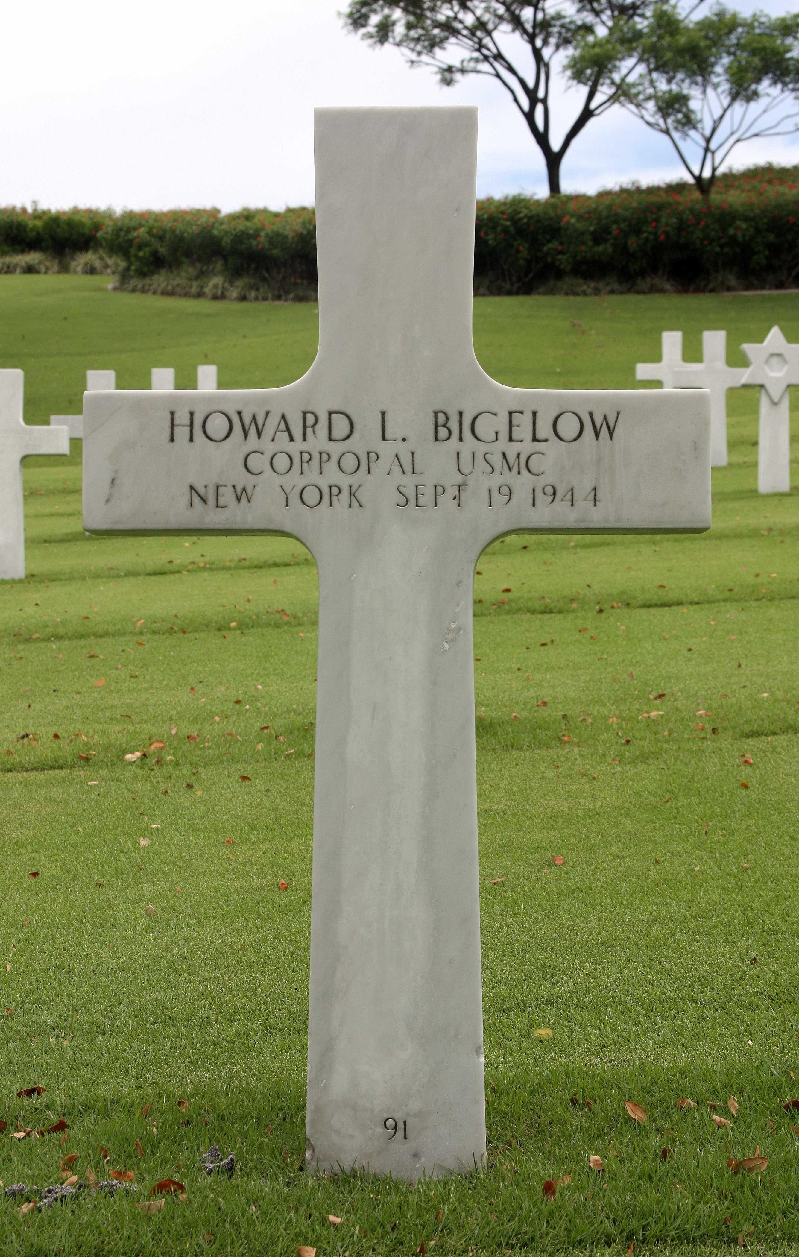 Corp Howard Lawrence Bigelow