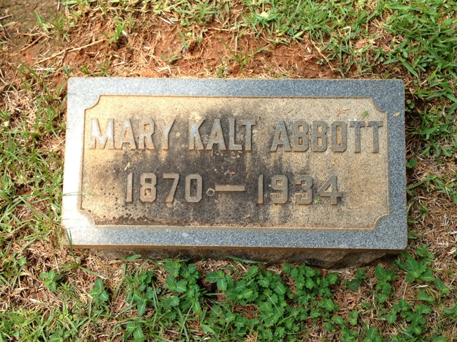 Mary Kalt Abbott