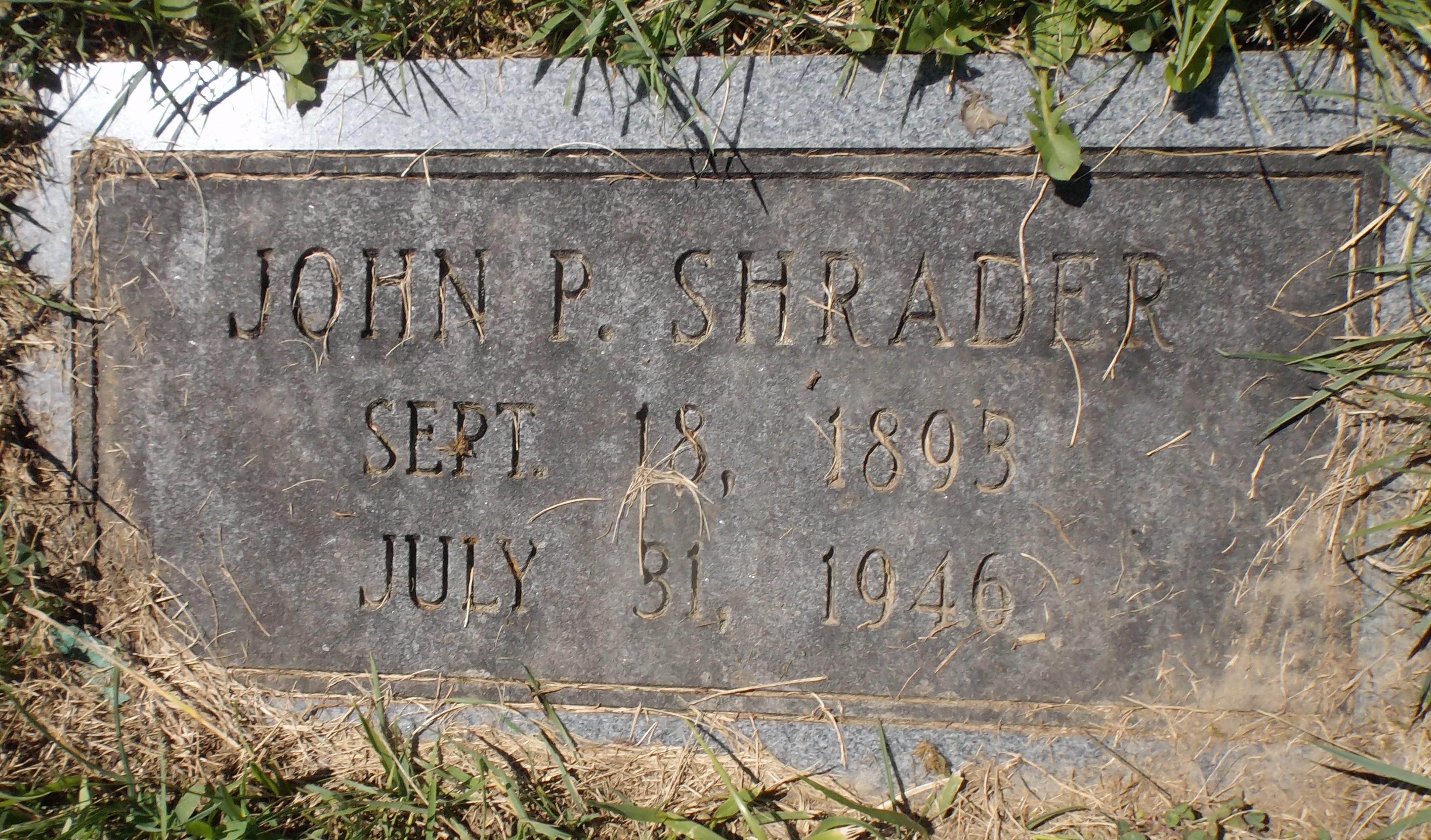 John Patton Shrader