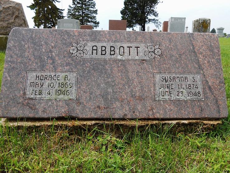 Susannah Silbert Susie <i>Mathews</i> Abbott