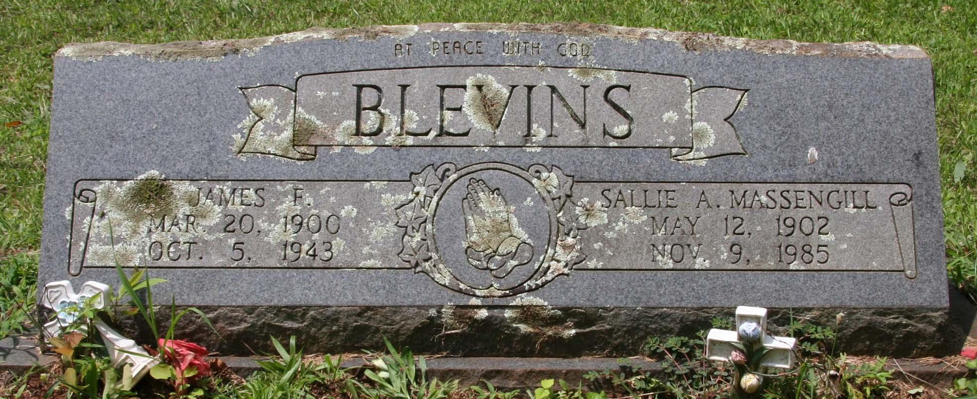Sallie Allice <i>Massengill</i> Blevins