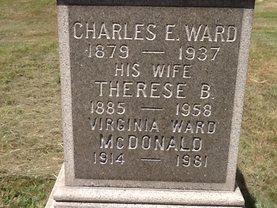 Virginia <i>Ward</i> McDonald