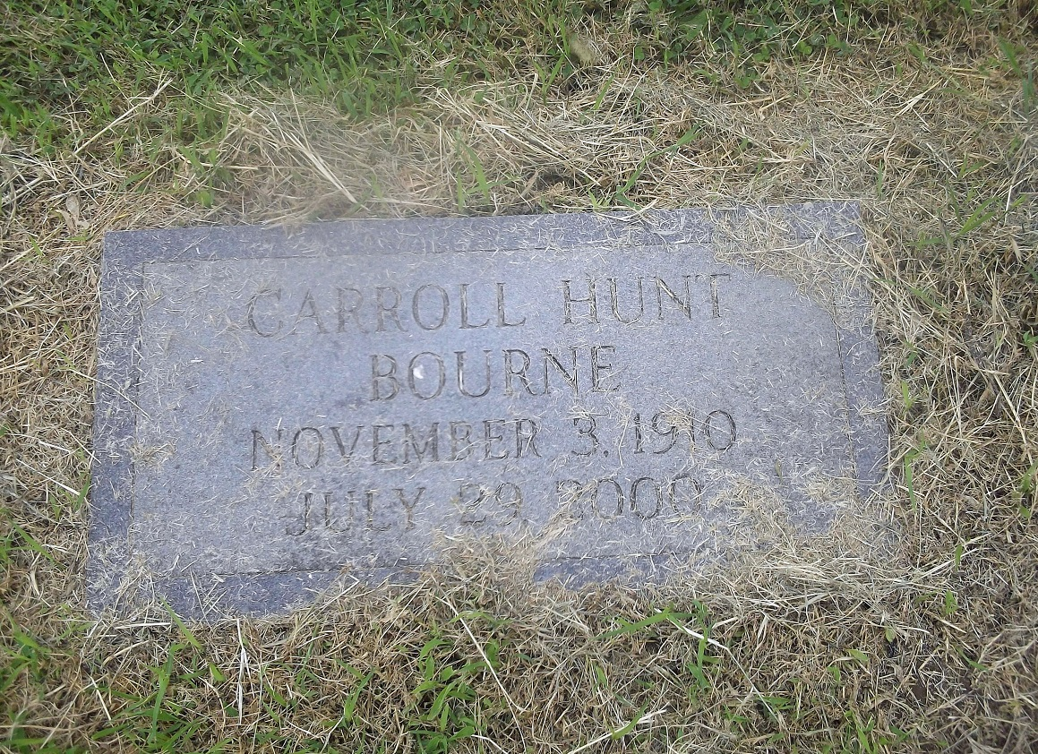 Carroll Hunt Bourne