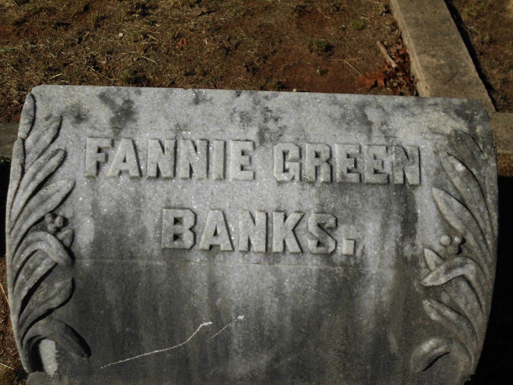 Fannie <i>Green</i> Banks