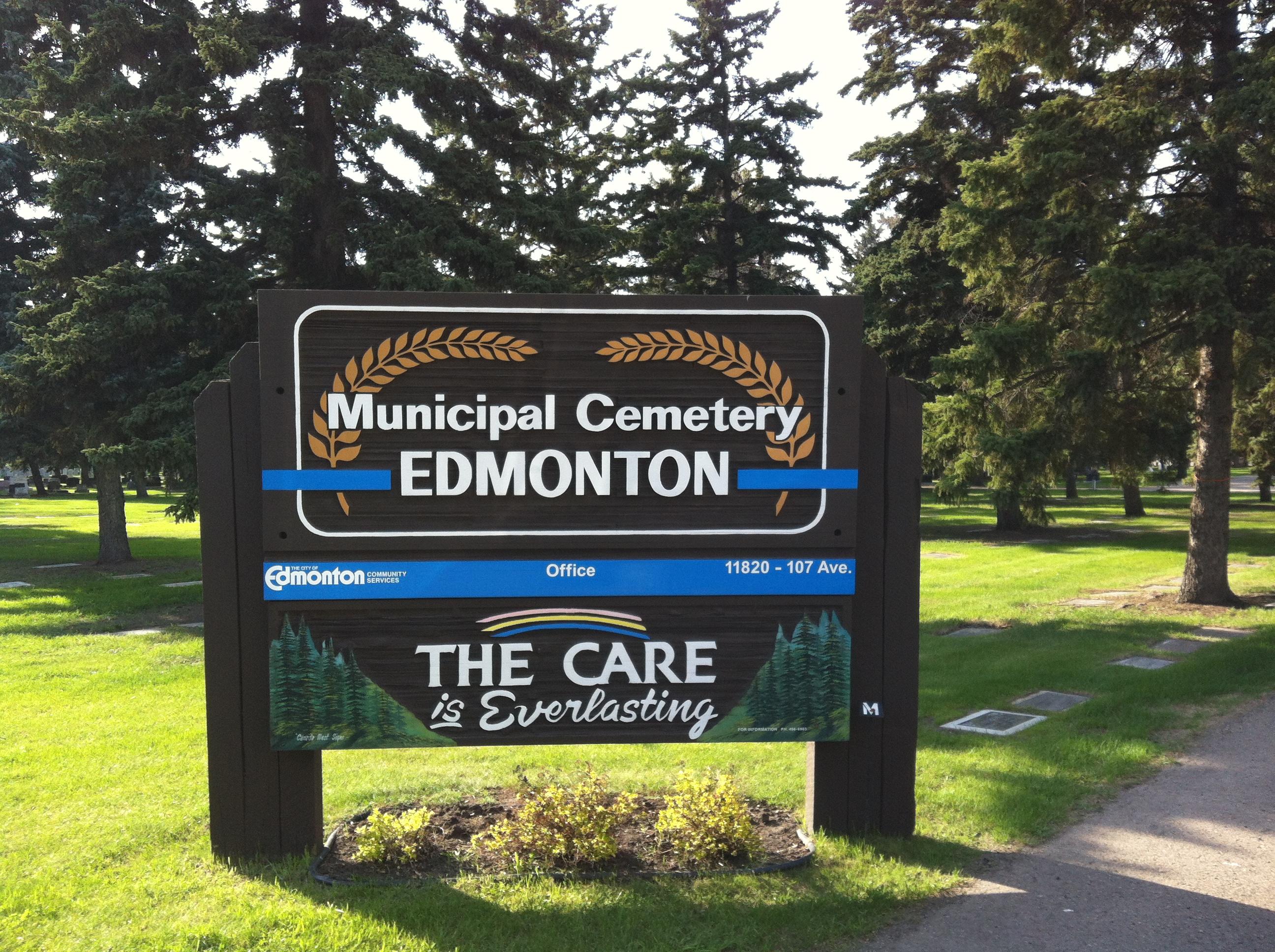 Edmonton Municipal Cemetery