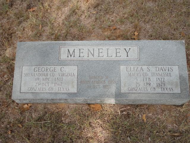 Eliza Lois <i>Davis</i> Meneley