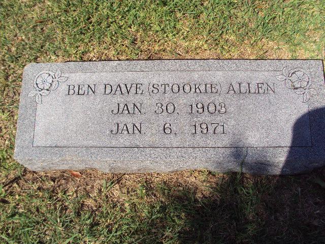 Benjamin Dave Stookie Allen