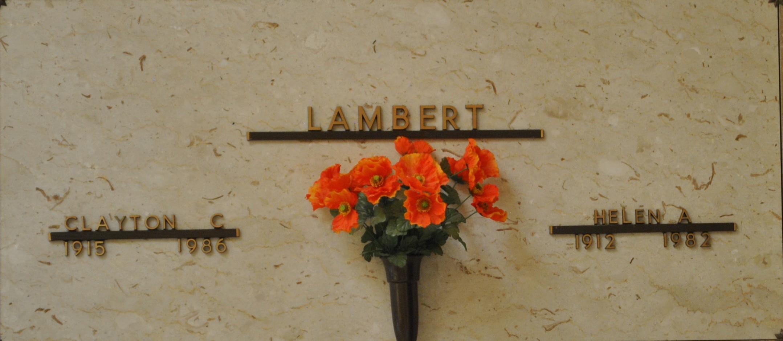 Helen A. <i>Maureschat</i> Lambert