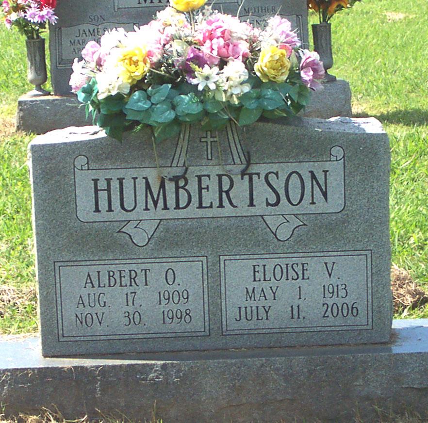 Albert Oscar Humbertson