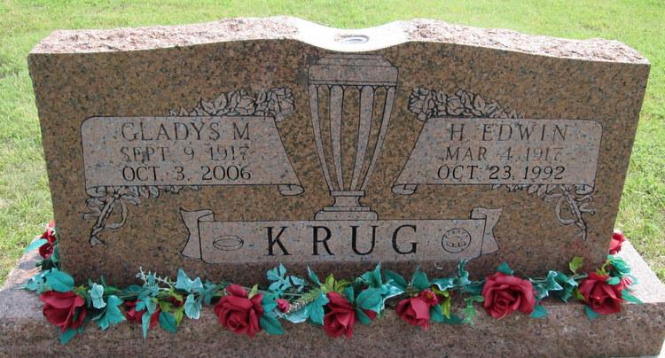 Gladys Mae <i>Oller</i> Krug