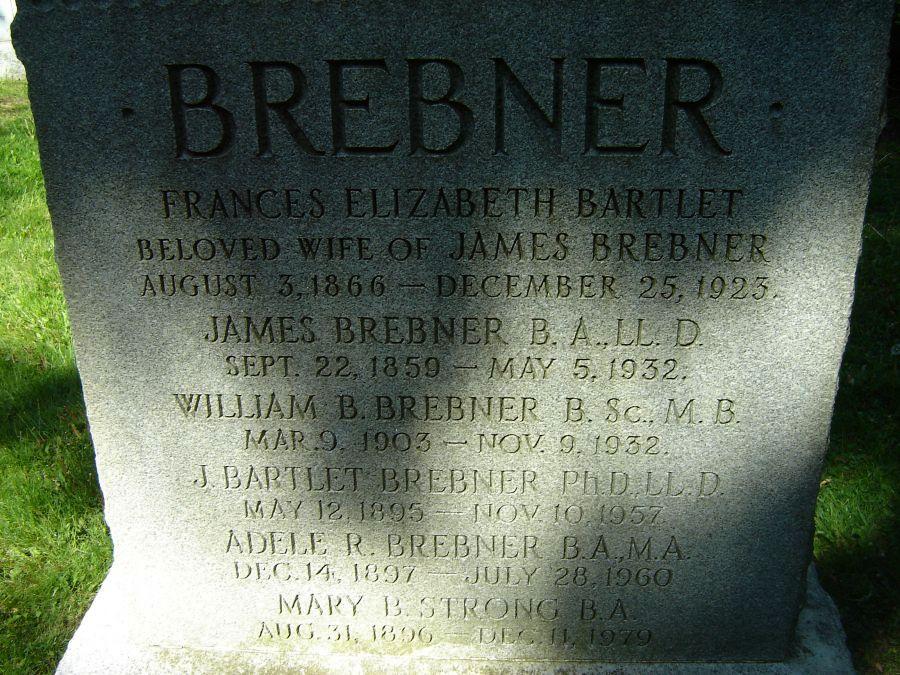 Adele R Brebner