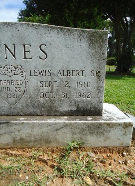 Lewis Albert Jones, Sr