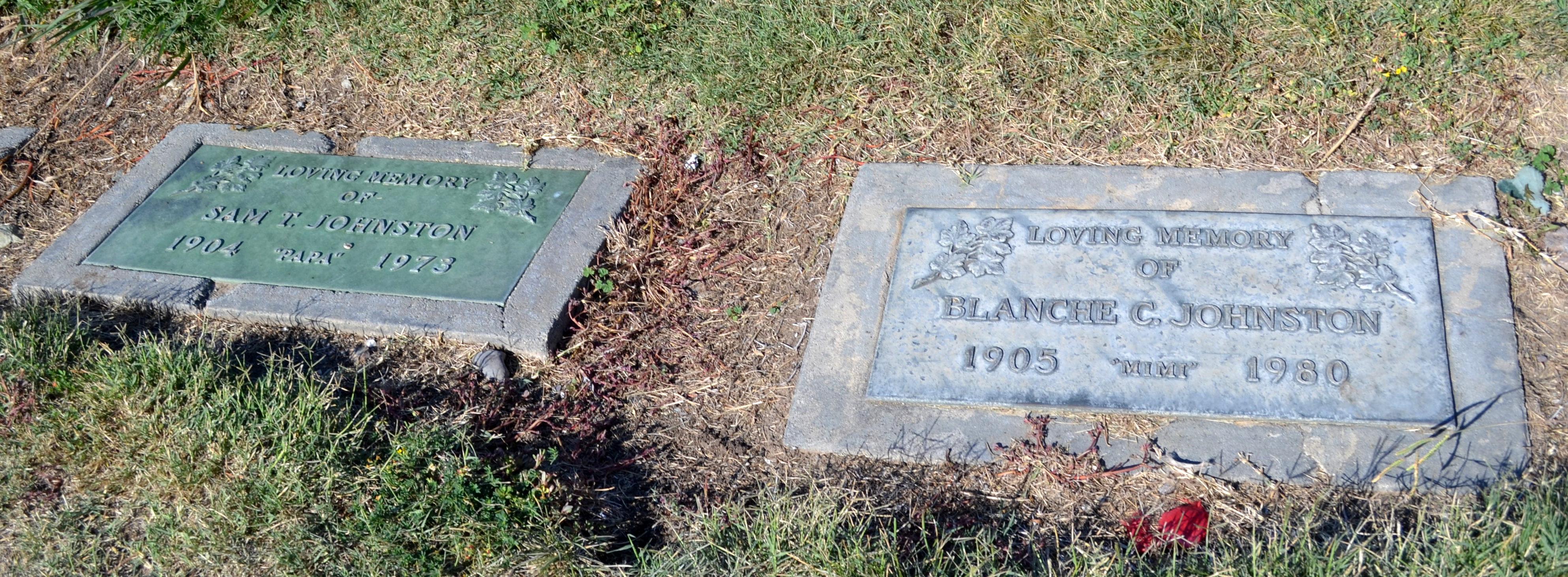 Blanche C Mimi Johnston