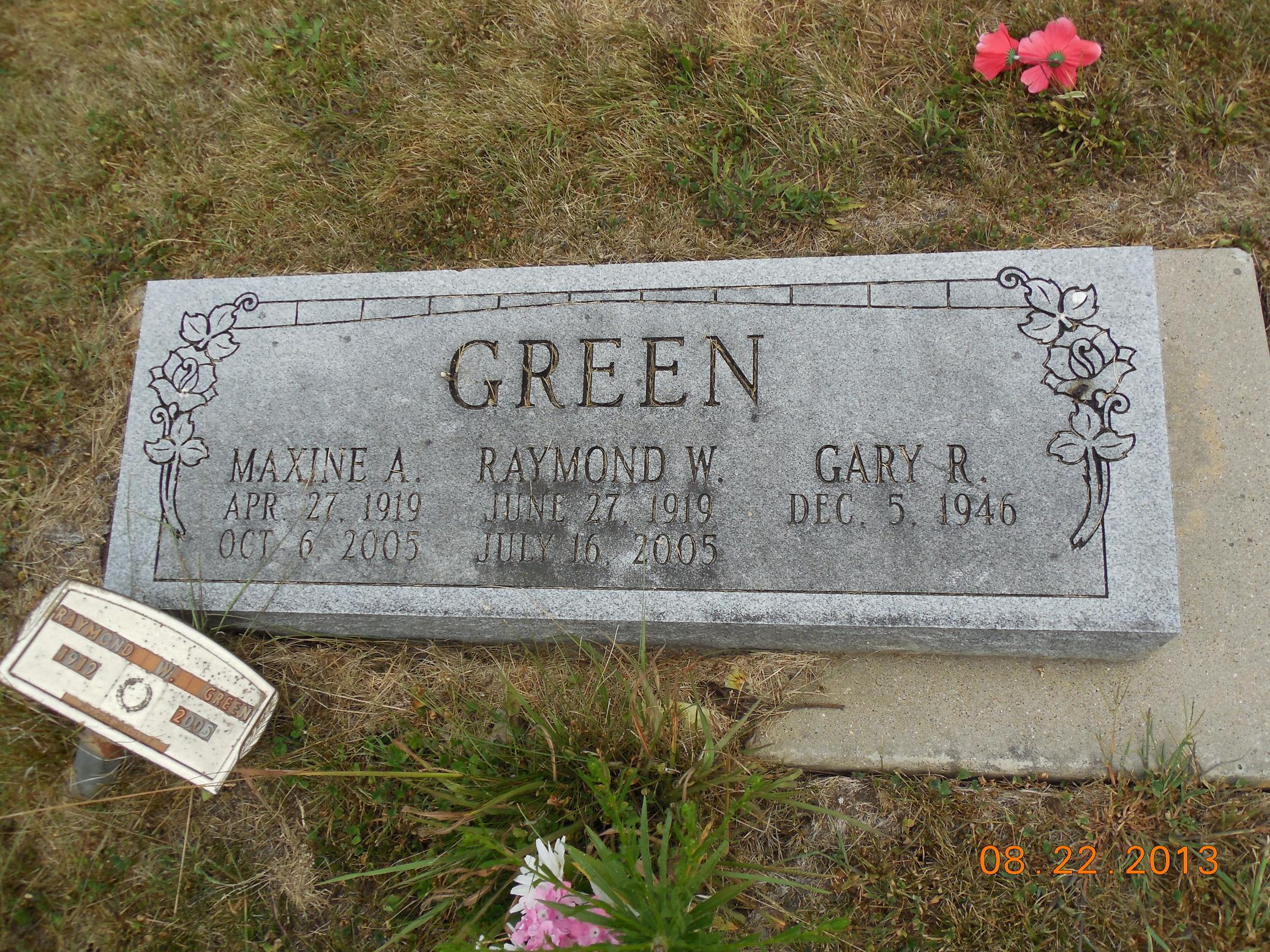 Raymond William Green