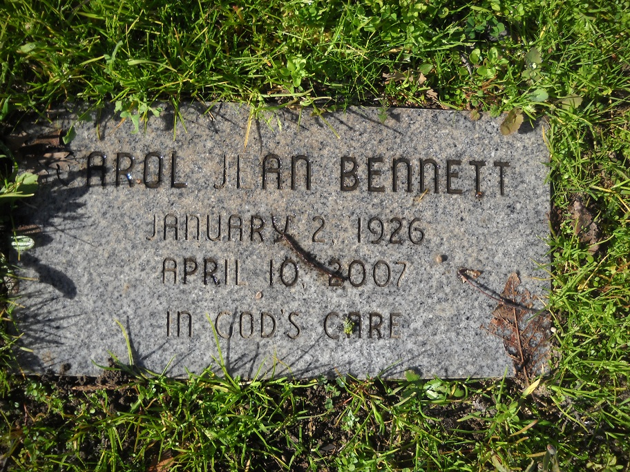 Carol Jean Bennett