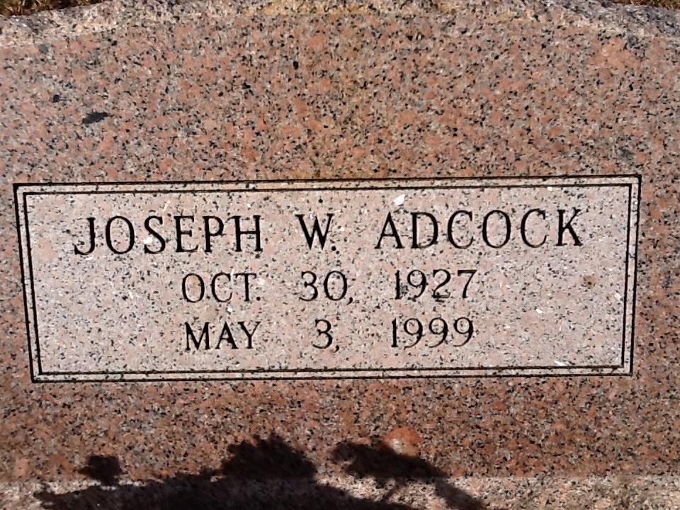 Joe Wilbur Joe Bill Adcock