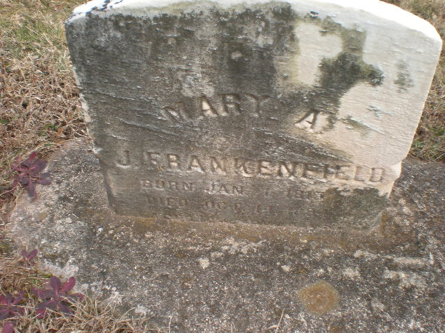 Mary Ann <i>Short</i> Frankenfield