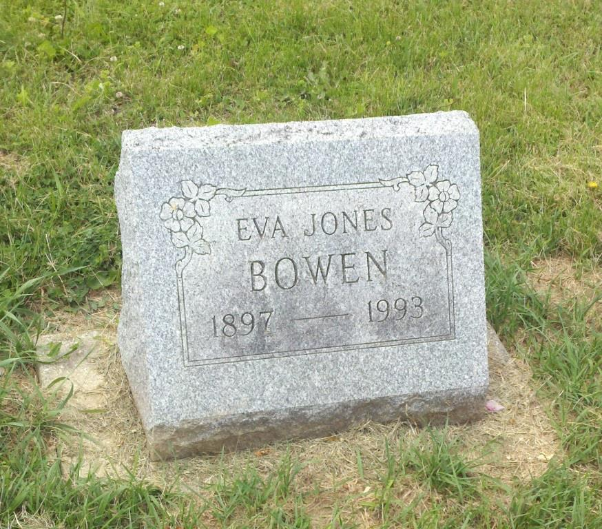 Eva <i>Jones</i> Bowen