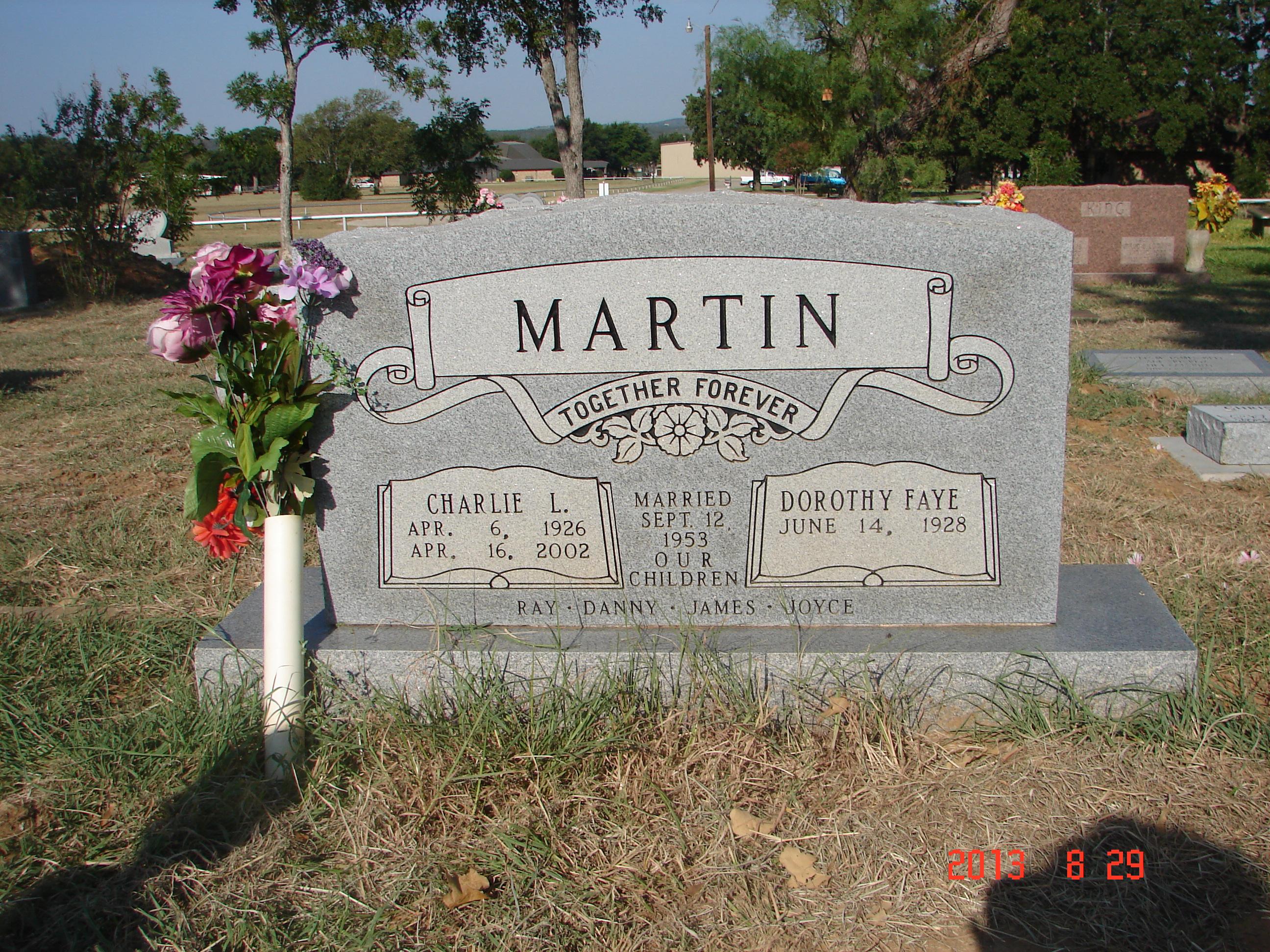 Charlie L Martin