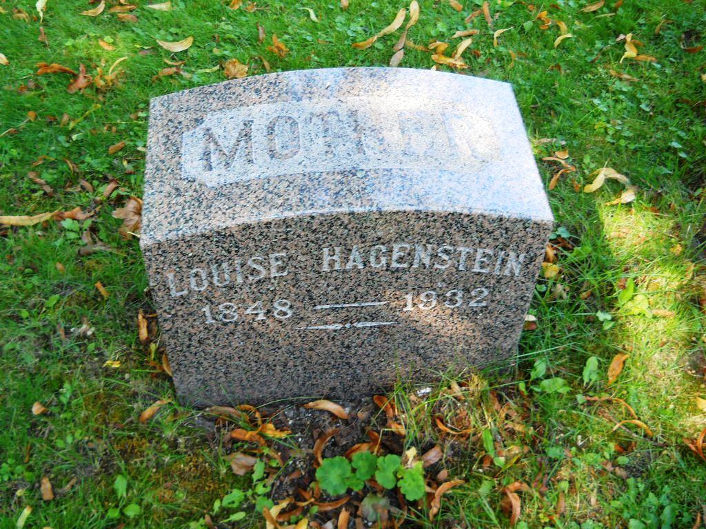 Louise <i>Thielke</i> Hagenstein