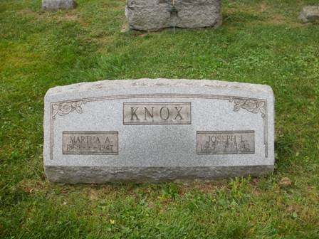 Martha Ann <i>Fleeger</i> Knox,
