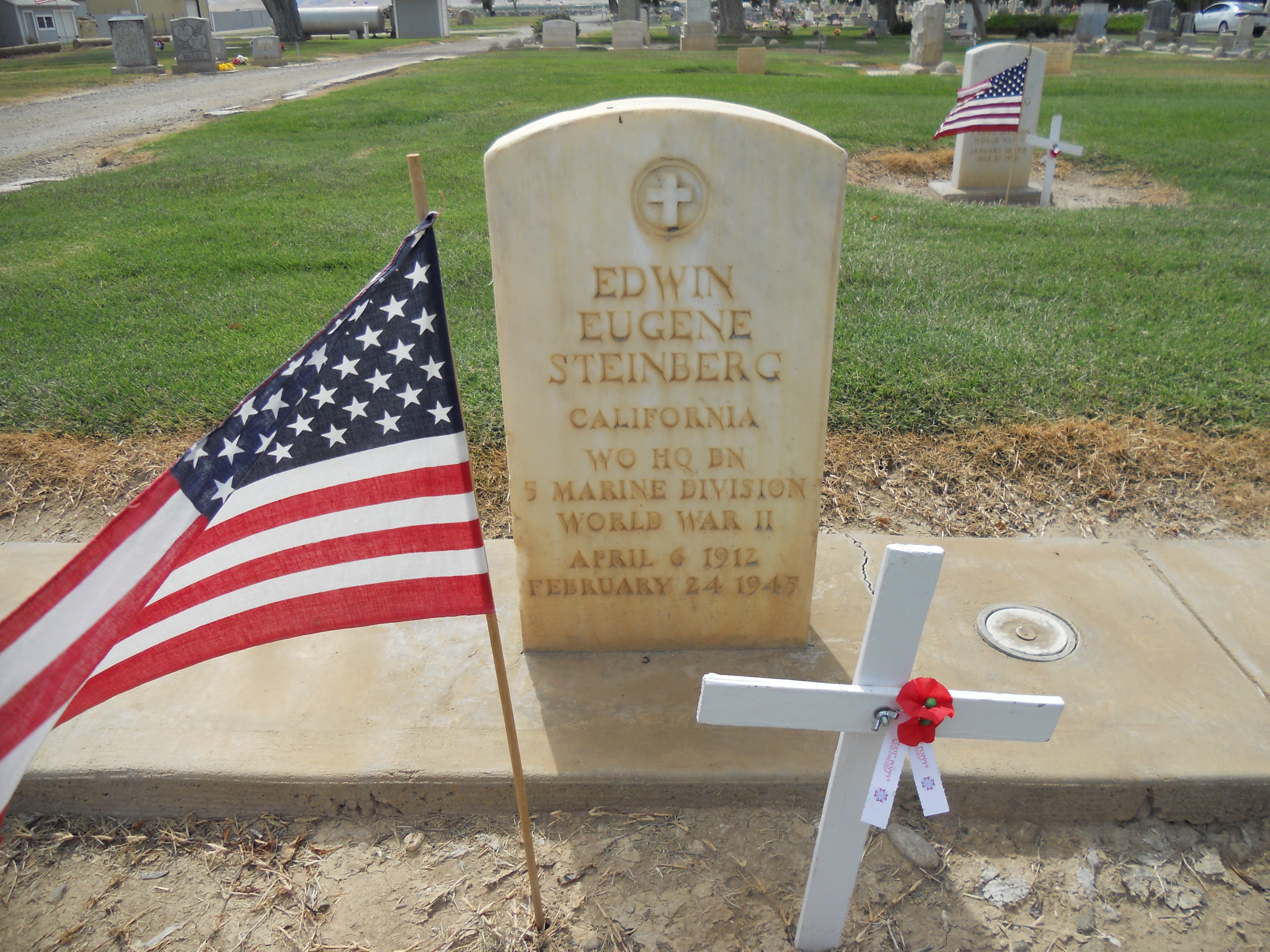 WO Edwin Eugene Steinberg (1912-1945) - Find A Grave Memorial