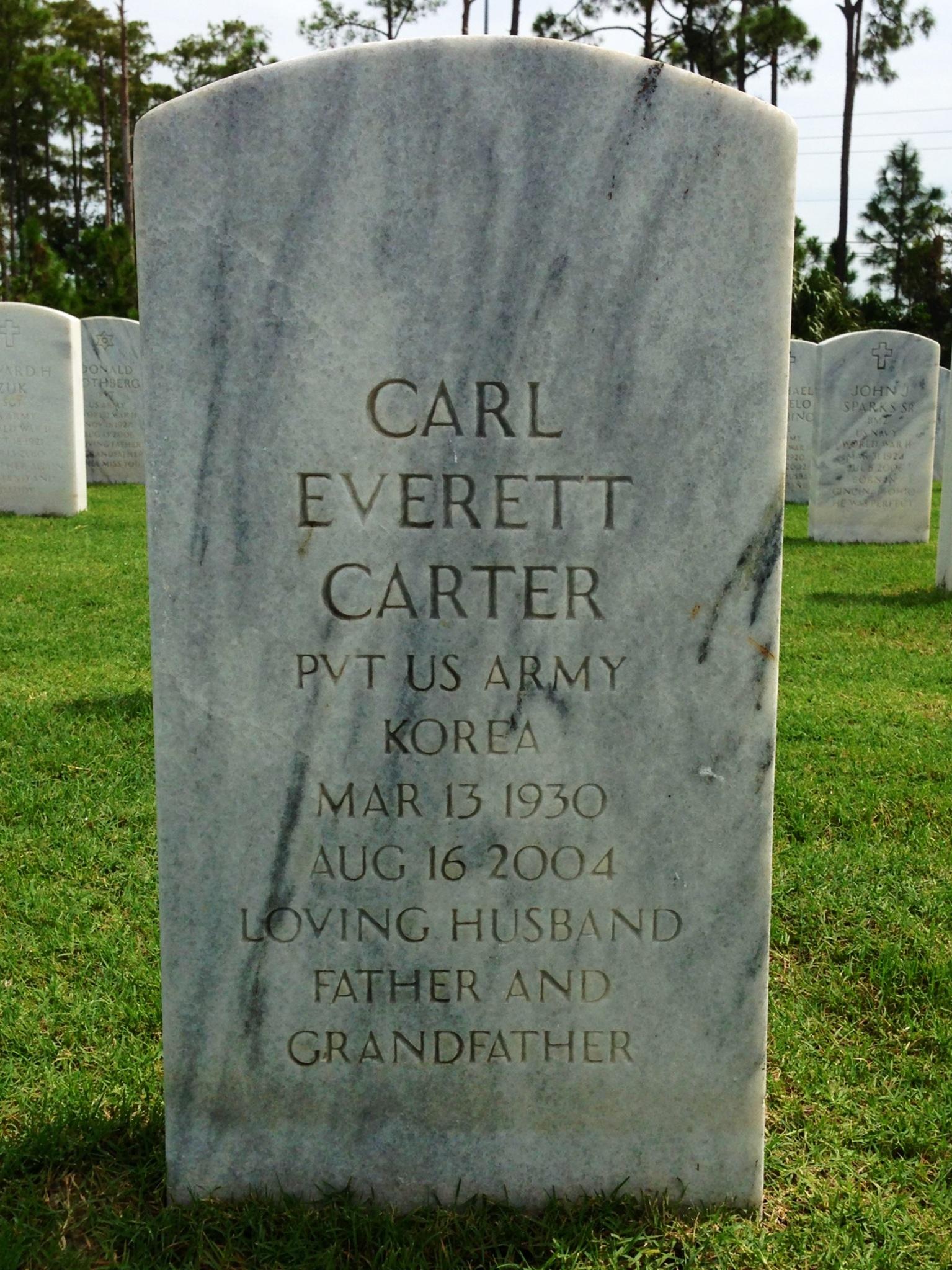 Carl Everett Carter