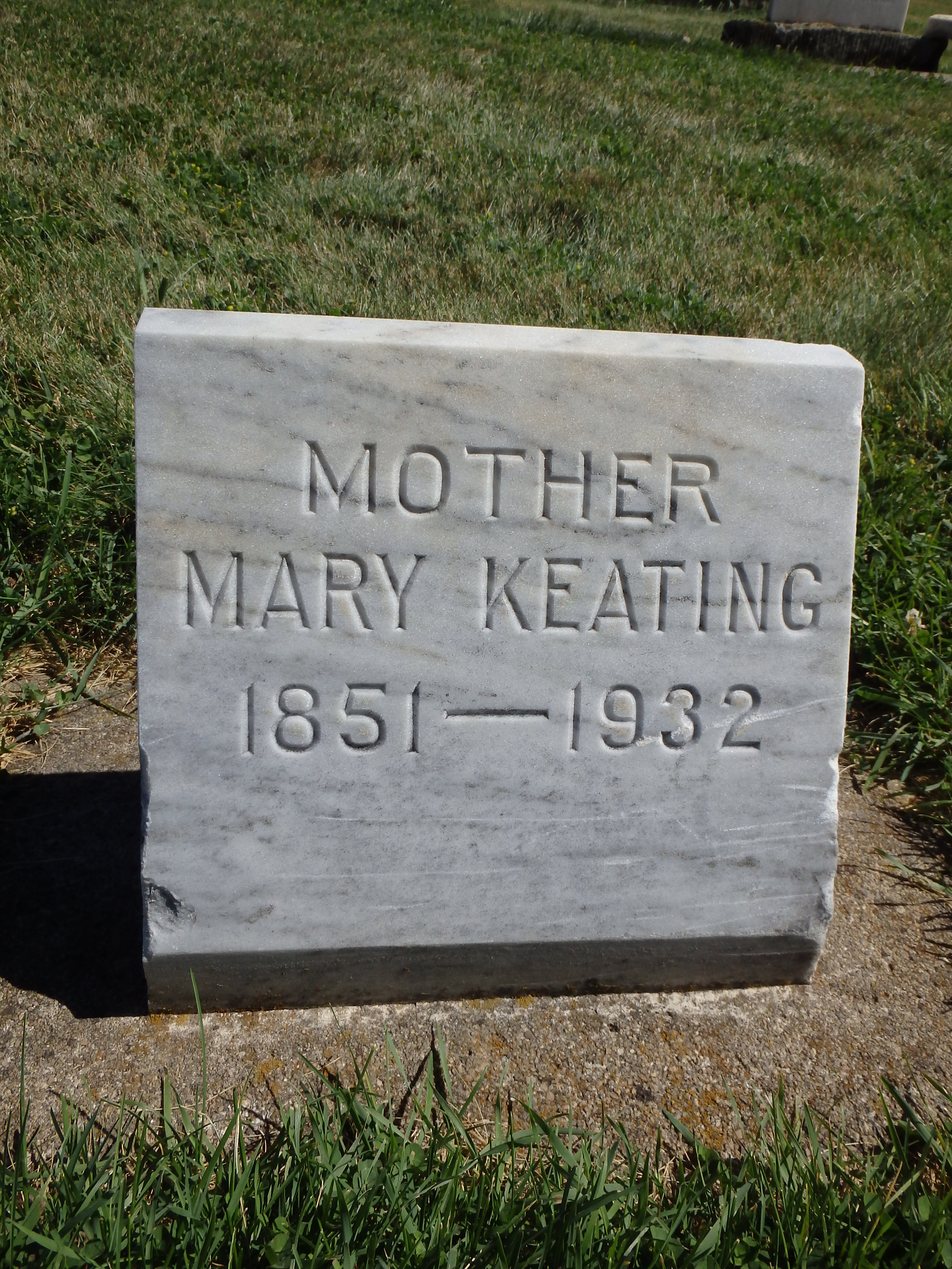 Mary Thresa <i>Curley</i> Keating