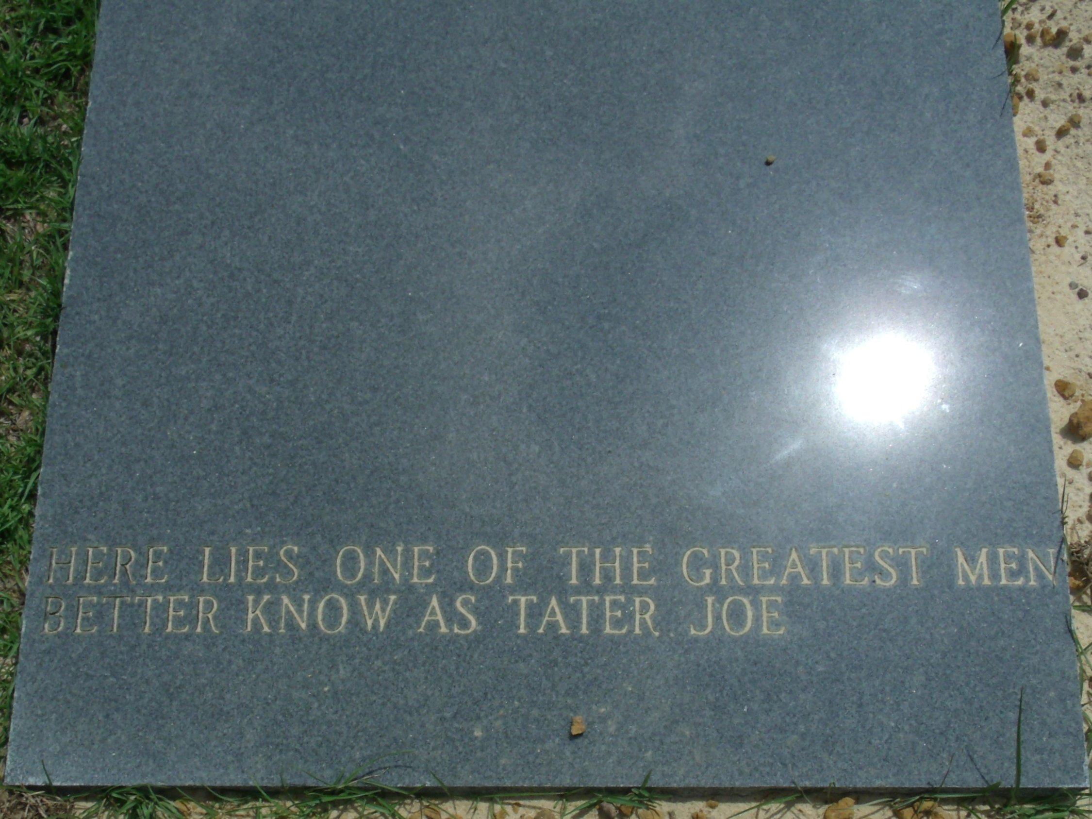 Joe Tater Joe Burgess, Sr