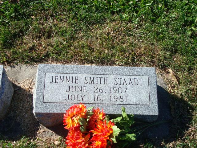 Jennie Mae <i>Bassett</i> Smith