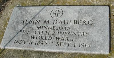 Albin Martin Dahlberg