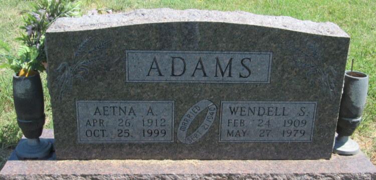 Wendell Stone Adams