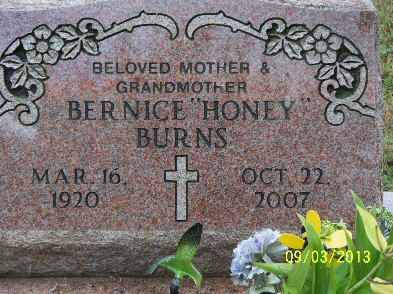 Bernice Honey Burns
