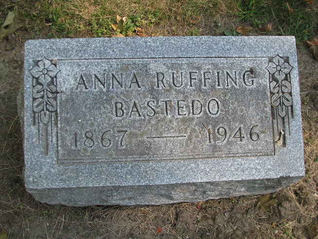 Anna <i>Ruffing</i> Bastedo