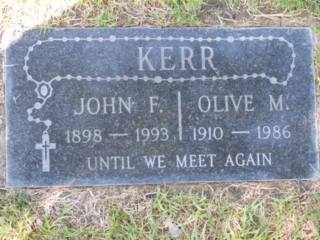 John Francis Kerr