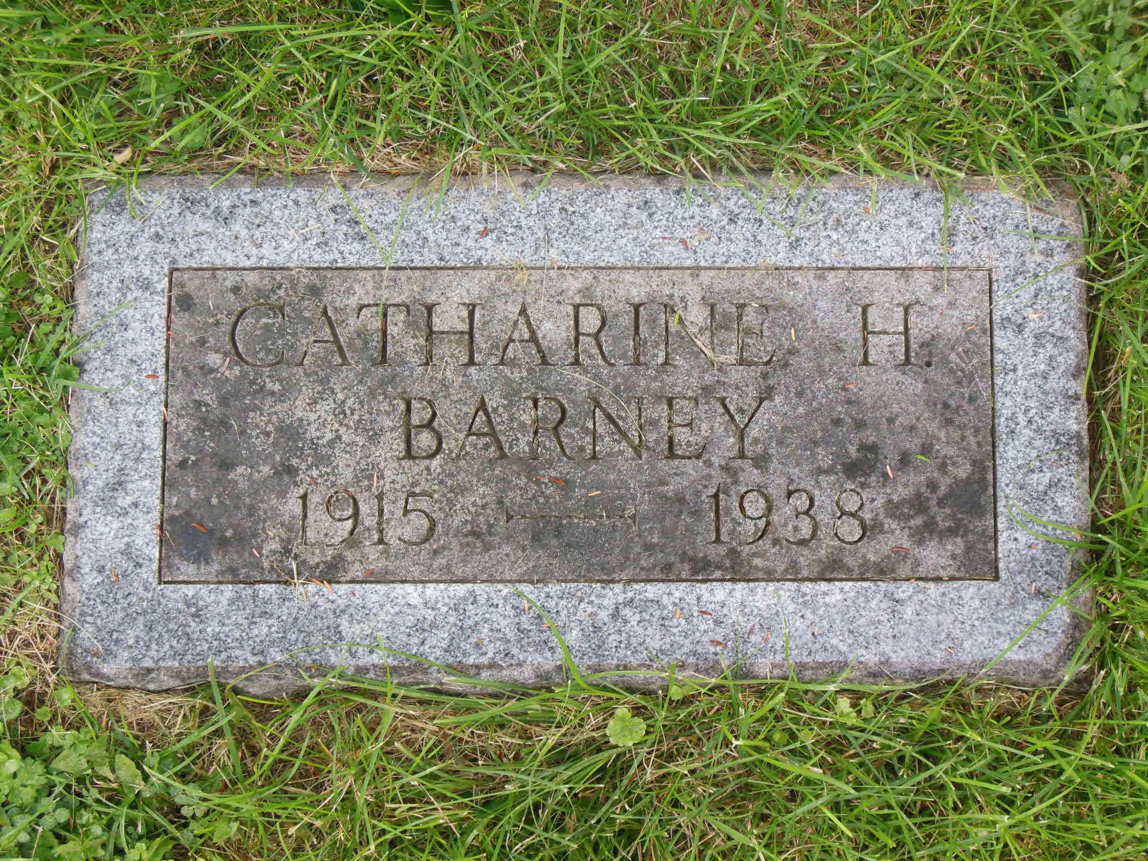 Catharine <i>Crandall</i> Barney