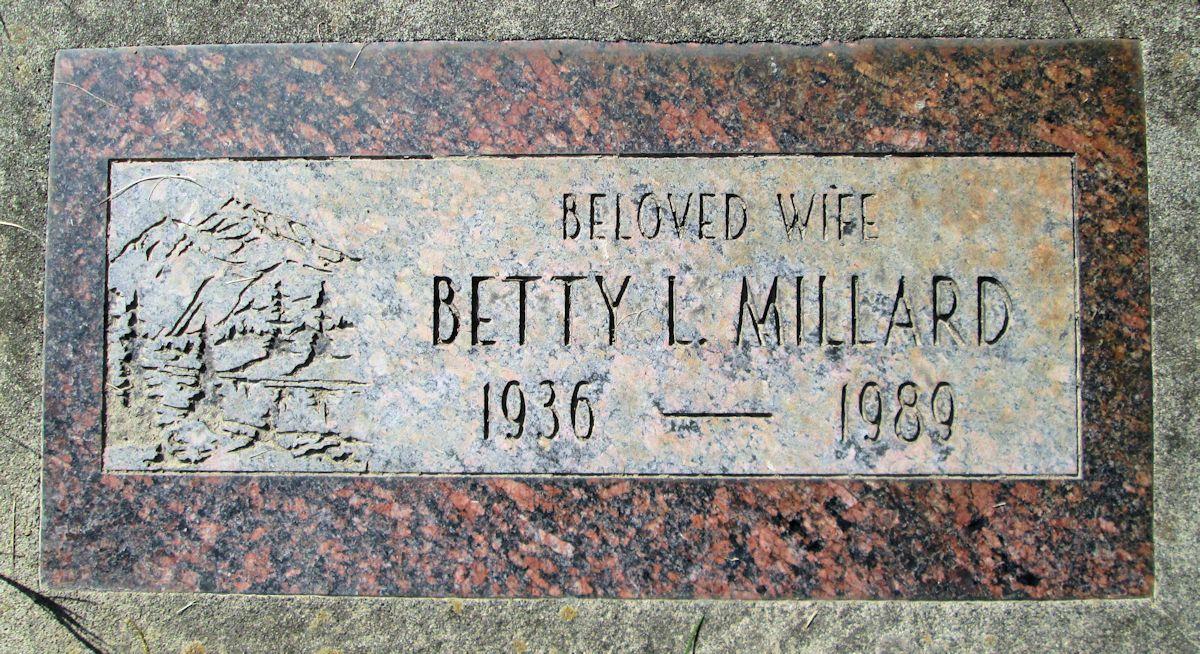 Betty Lou <i>Lind</i> Millard