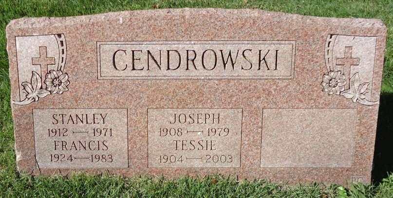Czes&#322;awa Tessie <i>Lewandowski</i> Cendrowski